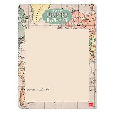 Legami Magnetic White Board - Map