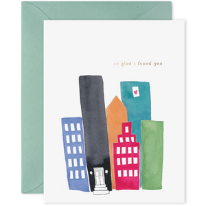 E Frances Greeting Card - City Love