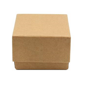 Casemade Cube Box - Natural (73x73x53mm)