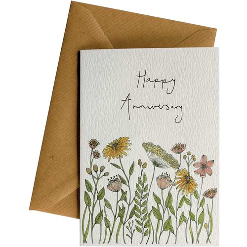 Little Difference Greeting Card - Anniversary Flowers