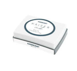 Kaisercraft - Ink Pad, White | Kaisercraft | Paperpoint Stationery South Melbourne