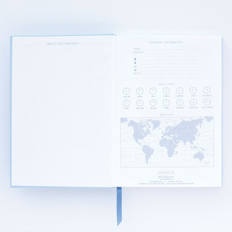 Designworks Medium Notebook - Vintage Sass – Embrace The Day | Designworks | Paperpoint Stationery South Melbourne