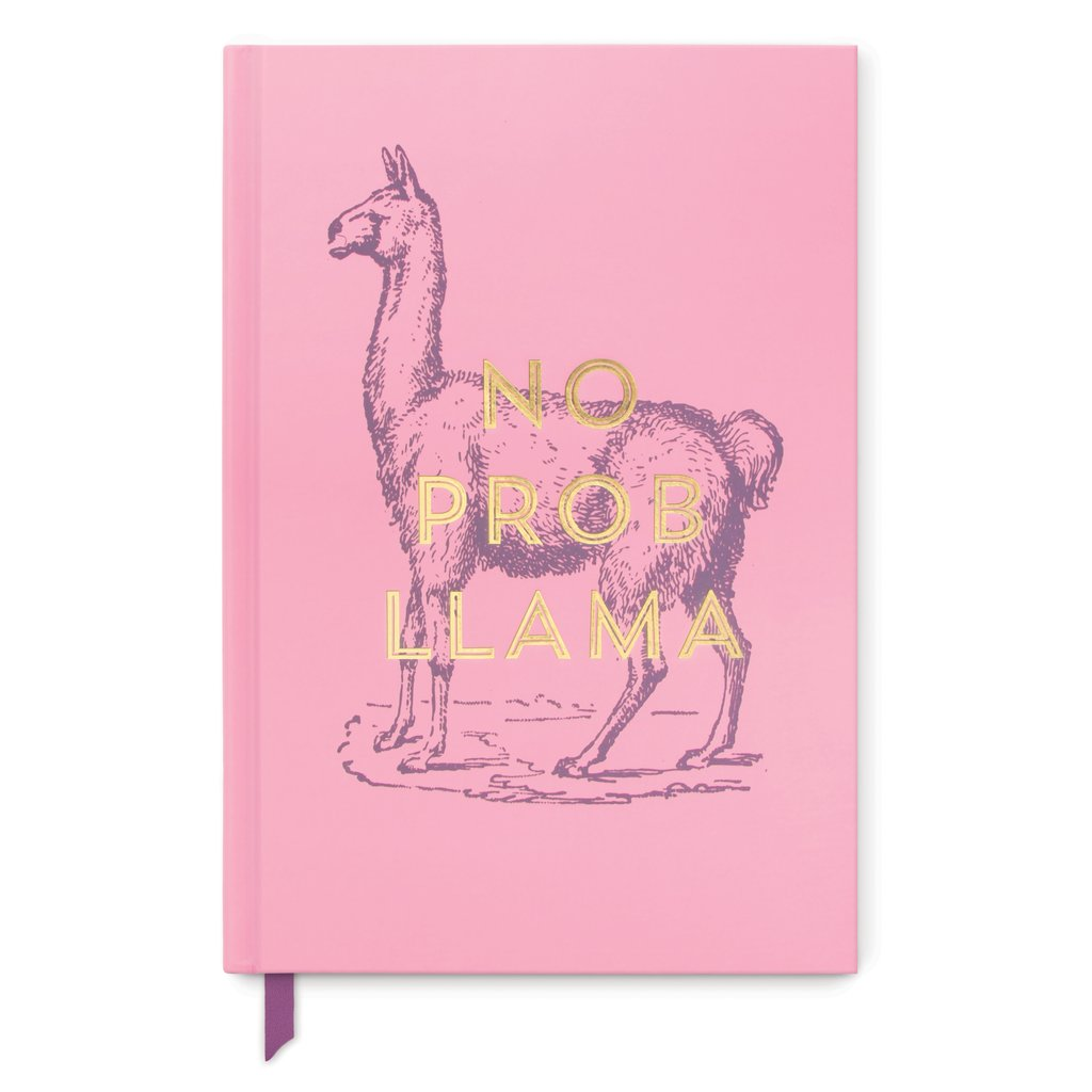 Designworks Medium Notebook - Vintage Sass - No Prob Llama