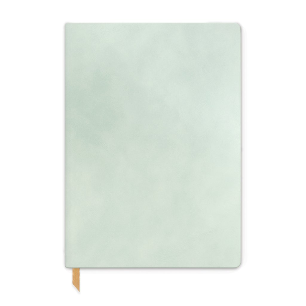 Designworks Vegan Suede Journal - Large, Mint