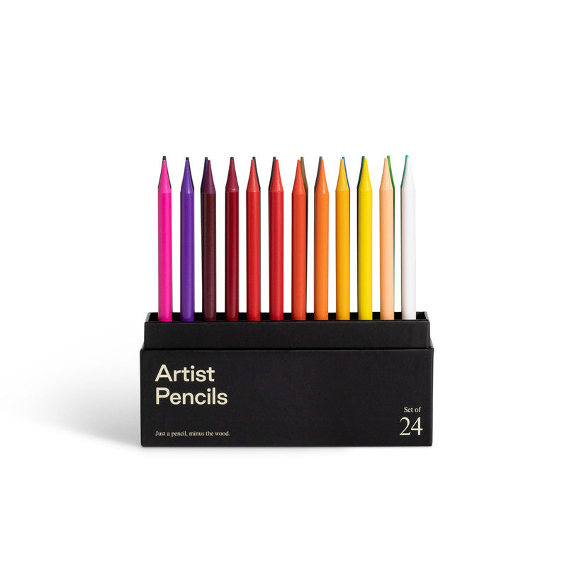 Karst Artist Pencils - Set of 24, Assorted Colours