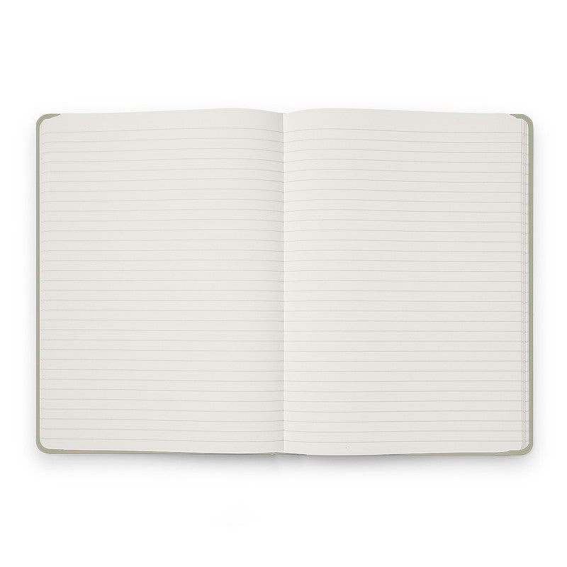 Karst Hard Cover Notebook - Ruled, A5, Eucalypt