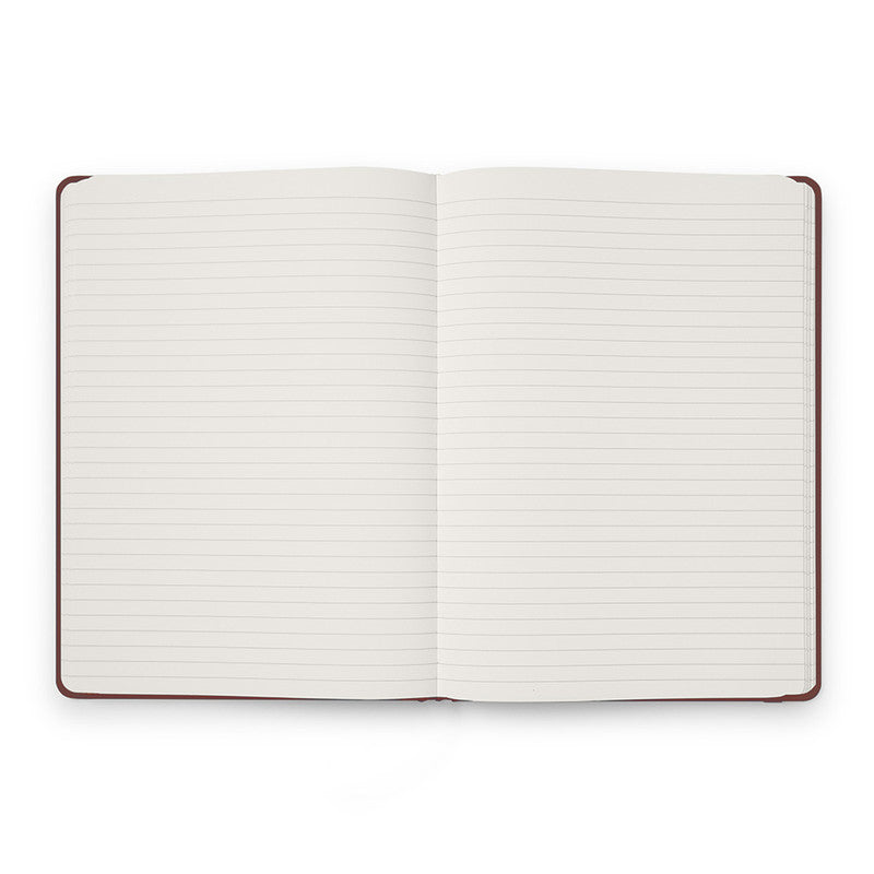 Karst Hard Cover Notebook - Ruled, A5, Pinot