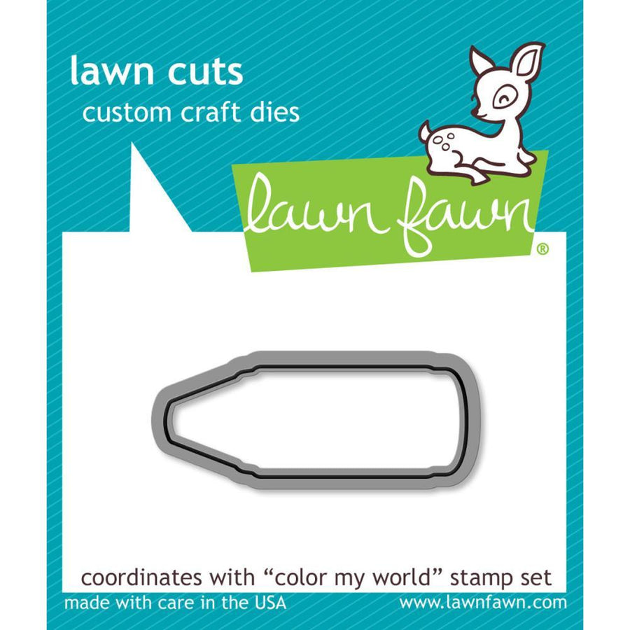 Lawn Fawn Stamp Set - Color My World | Lawn Fawn | Paperpoint Stationery South Melbourne