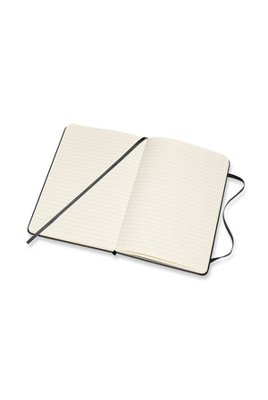 Moleskine Hard Cover Notebook - Ruled, Medium, Black