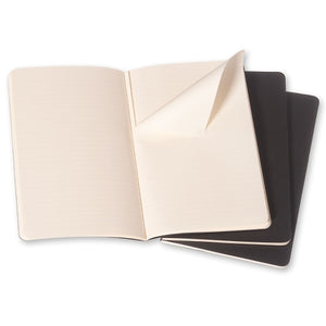 Moleskine Cahier Notebook - Ruled, Pocket, Black