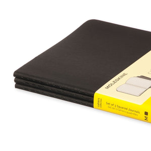 Moleskine Cahier Notebook - Square, Large, Black