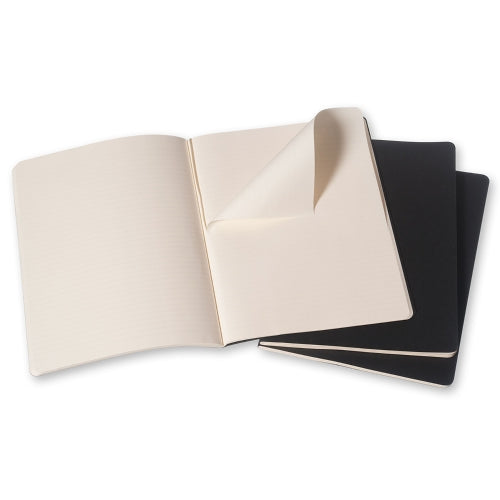 Moleskine Cahier Notebook - Ruled, Extra Large, Black