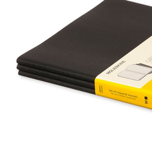 Moleskine Cahier Notebook - Square, Extra Large, Black