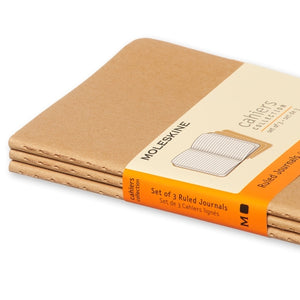 Moleskine Cahier Notebook - Ruled, Pocket, Kraft