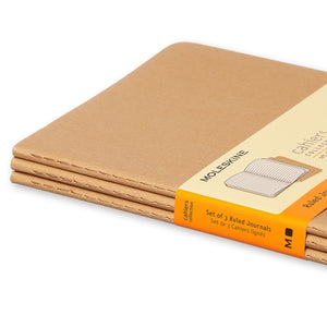 Moleskine Cahier Notebook - Ruled, Large, Kraft