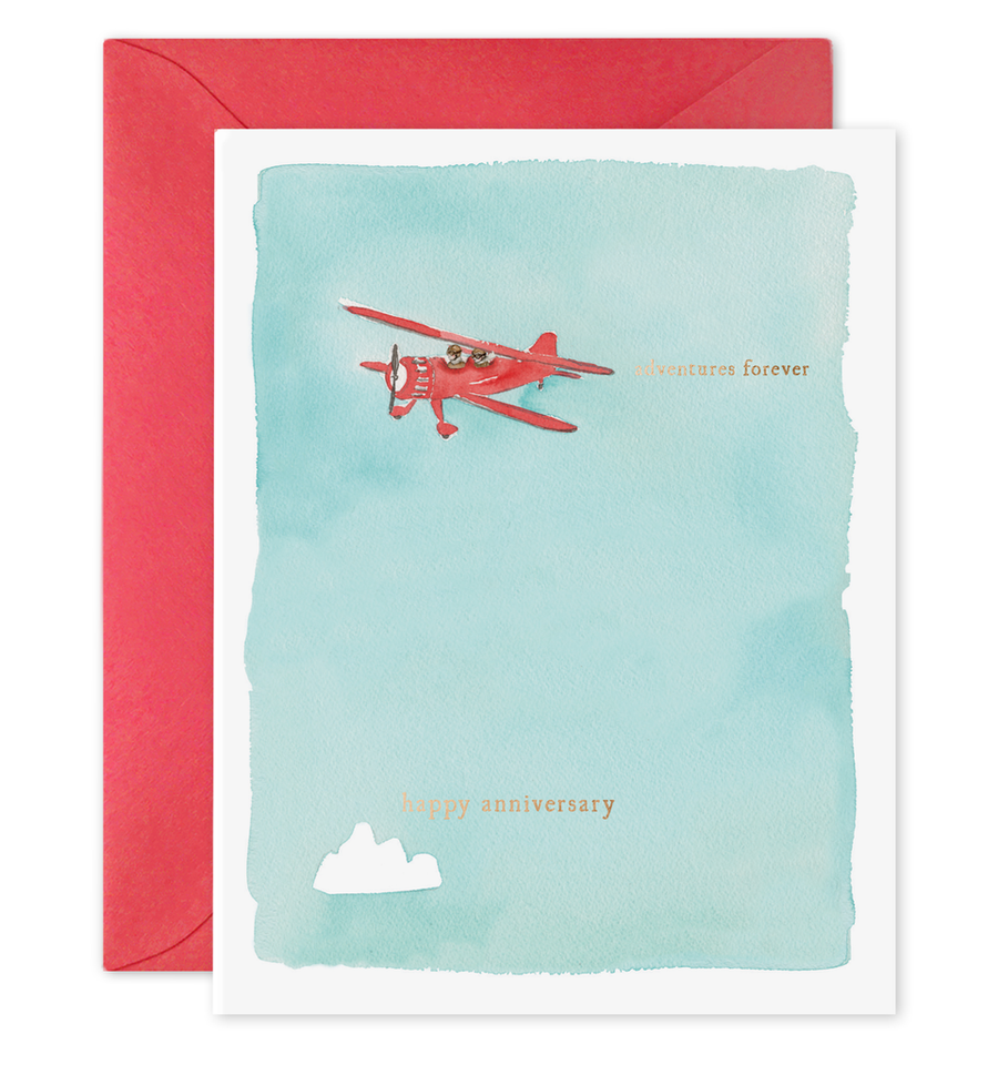 E Frances Greeting Card - Adventure Anniversary