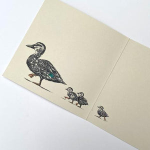 Marini Ferlazzo Greeting Card - World Animal Protection Collection, Ducklings