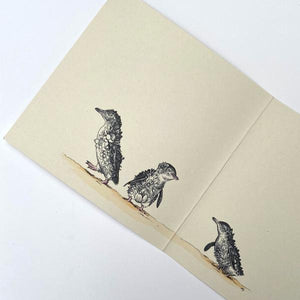 Marini Ferlazzo Greeting Card - World Animal Protection Collection, Little Penguins