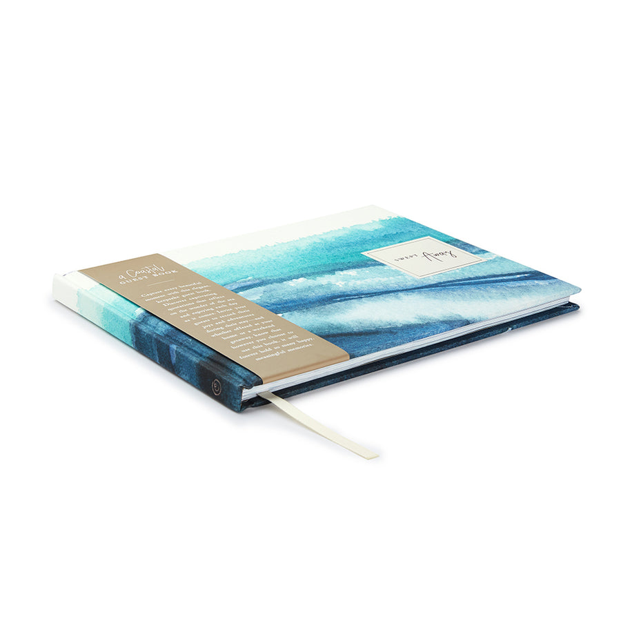 Compendium Guest Book - Swept Away | Compendium | Paperpoint Stationery South Melbourne