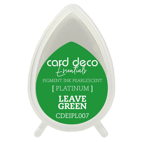 Card Deco Essentials Pearlescent Pigment Ink - Leaf Green