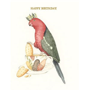 Squirrel Design Studio Greeting Card - Fit for a King