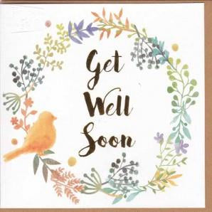 Paper Street Greeting Card - Get Well Soon Bird
