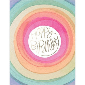 E Frances Greeting Card - Foil Card, Happy Days Birthday