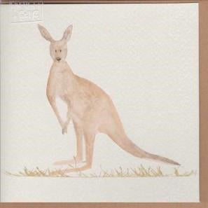Paper Street Greeting Card - Kangaroo