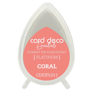Card Deco Essentials Pearlescent Pigment Ink - Coral