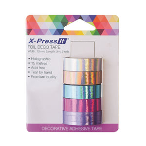 X-Press It Deco Tape - Holographic