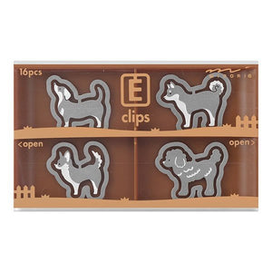 E Clip - Dog | Midori | Paperpoint Stationery South Melbourne