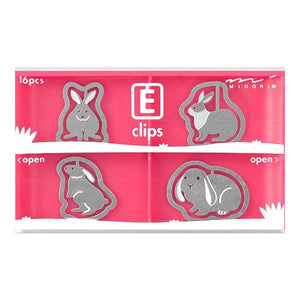 E Clip - Pink | Midori | Paperpoint Stationery South Melbourne