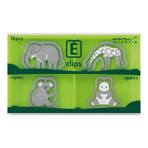 E Clip - Green | Midori | Paperpoint Stationery South Melbourne