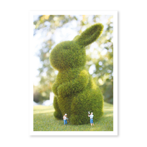 Littlies Greeting Card - Art of Topiary