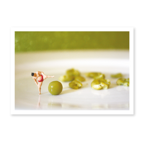 Littlies Greeting Card - Mushy Peas