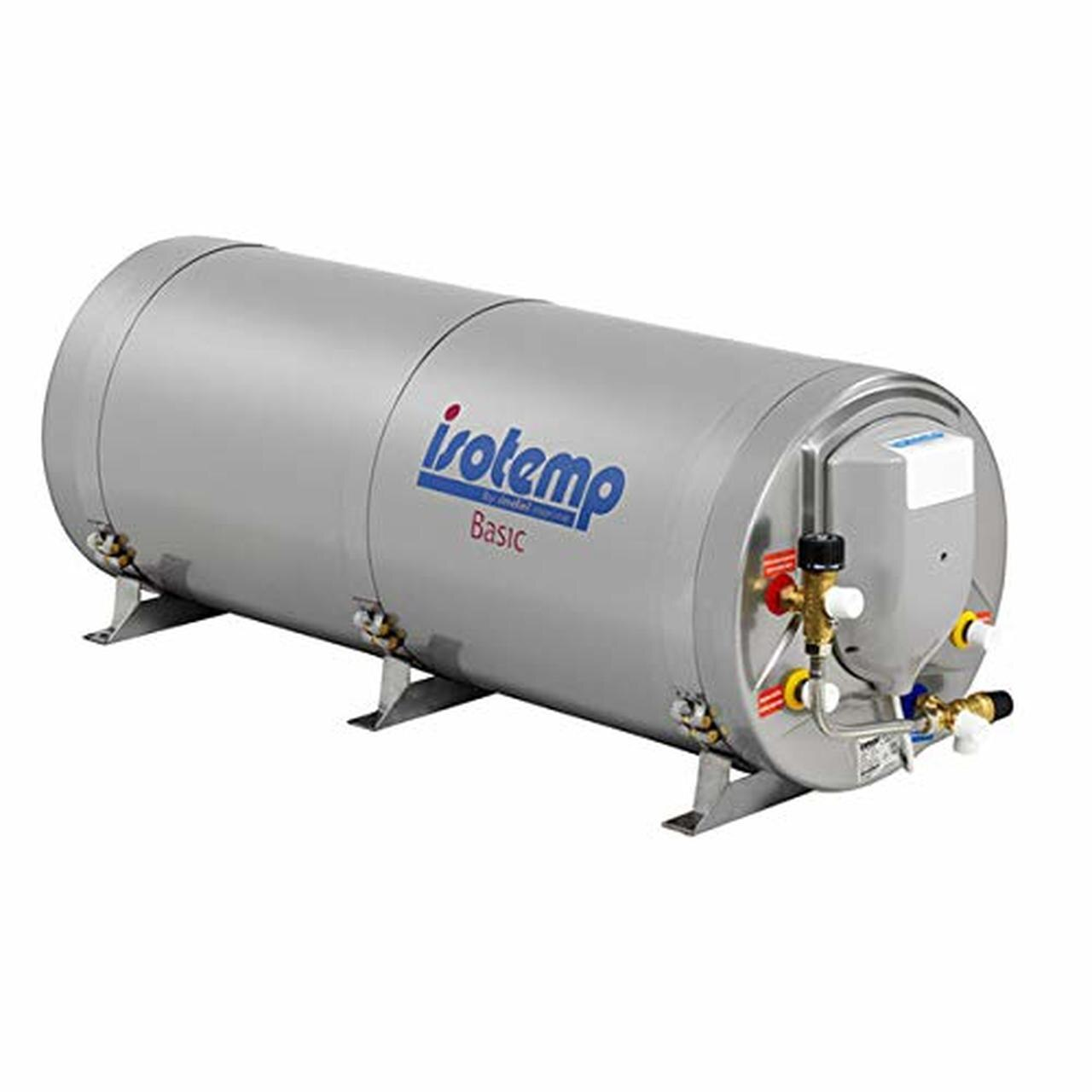 Isotemp Waterheater BASIC 75 Stainless Steel - 20 gallon, 750W/230V with safety mixing valve, European Plug