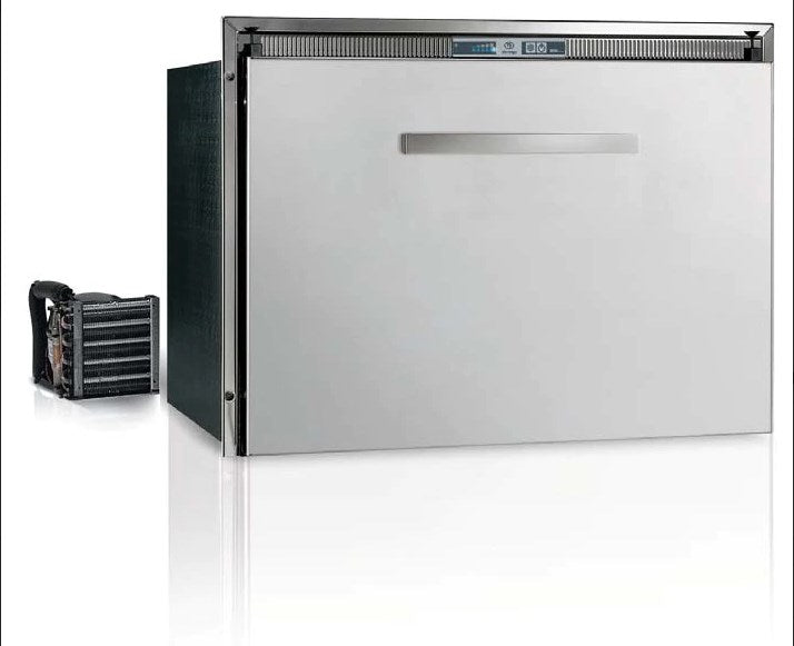 Vitrifrigo Stainless Steel Drawer Refrigerators and Freezers DW70RXP4-ES-1