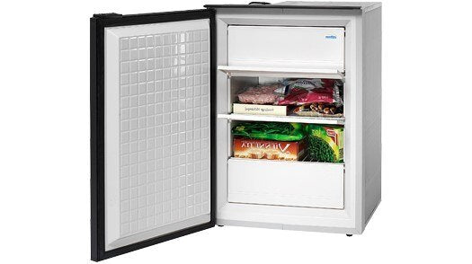 Isotherm Cruise 90 Classic Deep Freezer - AC/DC, 3 - Sided Black Flange