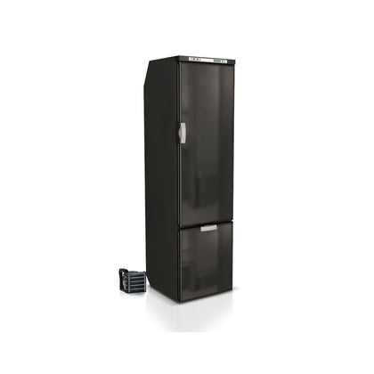 Vitrifrigo Front-Loading, Black Refrigerators SLIM150RBD4-EQ