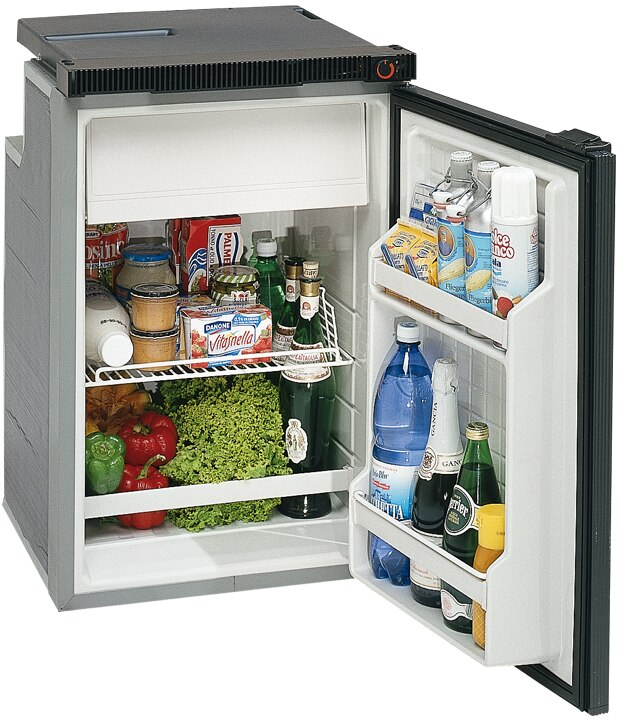 Isotherm Cruise 100 Classic Refrigerator AC/DC - 3.5 cu.ft., Right Swing, 2-sided fixing frame