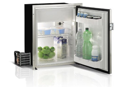 Vitrifrigo Front-Loading, Stainless Steel Refrigerator C75RXD4- F-1