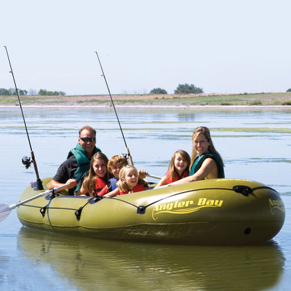 Airhead Angler Bay 6 Person Inflatable Boat