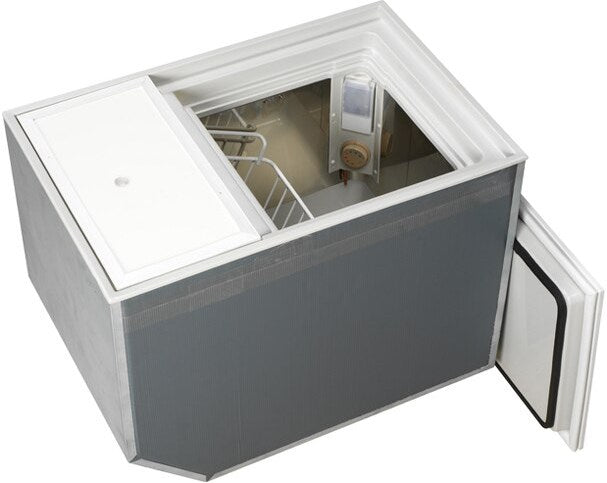BI-53 Build-In Deep Freezer or Fridge, DC Only, Stainless Steel Interior,SP Water Cooled, Remote Compressor, 1.87 cu. ft.