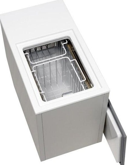 Isotherm BI-29 Build-In Freezer or Fridge, DC Only, Stainless Steel Interior, AirCooled, Remote Compressor, 1 cu. ft.