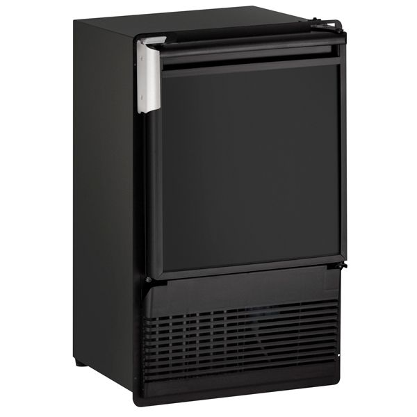 "U-Line BI95FC 14"" Crescent Ice Maker Black 115V"