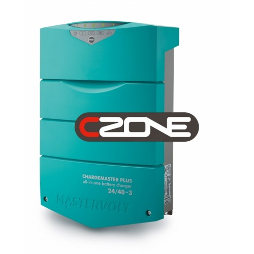 Chargemaster Plus  24/40-3 CZONE - 24V, 40 AMP, 3 Battery Outlets