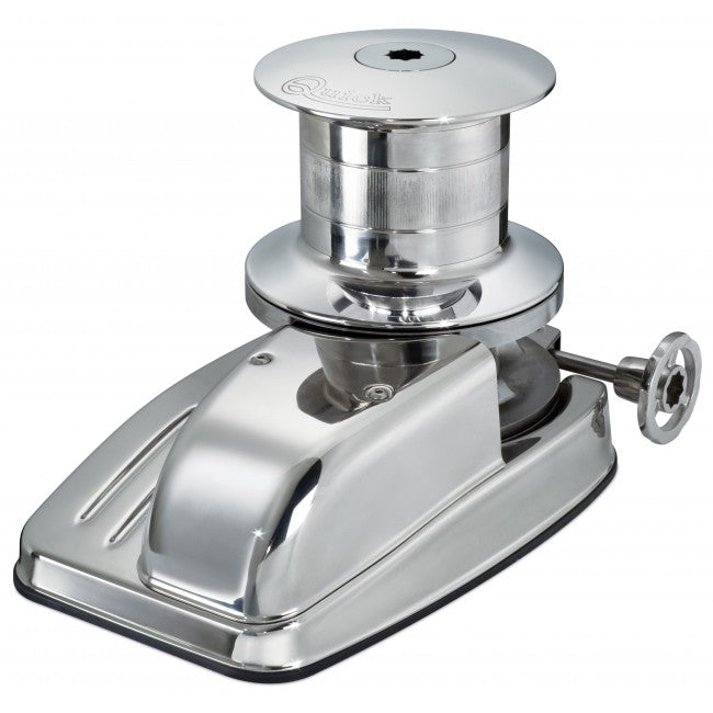 Duke Vertical Windlass with Drum - Left Chain Pipe