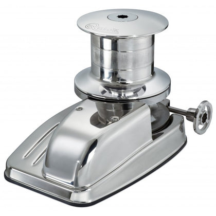 Duke Vertical Windlass with Drum -Left Chain Pipe