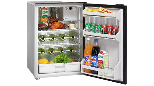 Isotherm Cruise 130 Drink Classic - AC/DC, Black Door & Panel, 3 - Side Black Flange, No Freezer