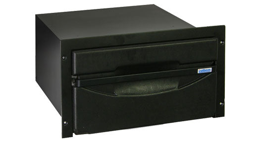 Isotherm Cruise 36 Classic Black AC/DC - Black Door, 3 - Sided Black Flange - Remote Mount Compressor